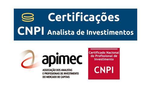 Certificação CNPI: Analista de Investimentos
