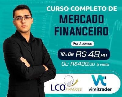 Curso Completo de  Mercado Financeiro - 12x R$49,90